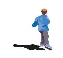 Gutt som løper