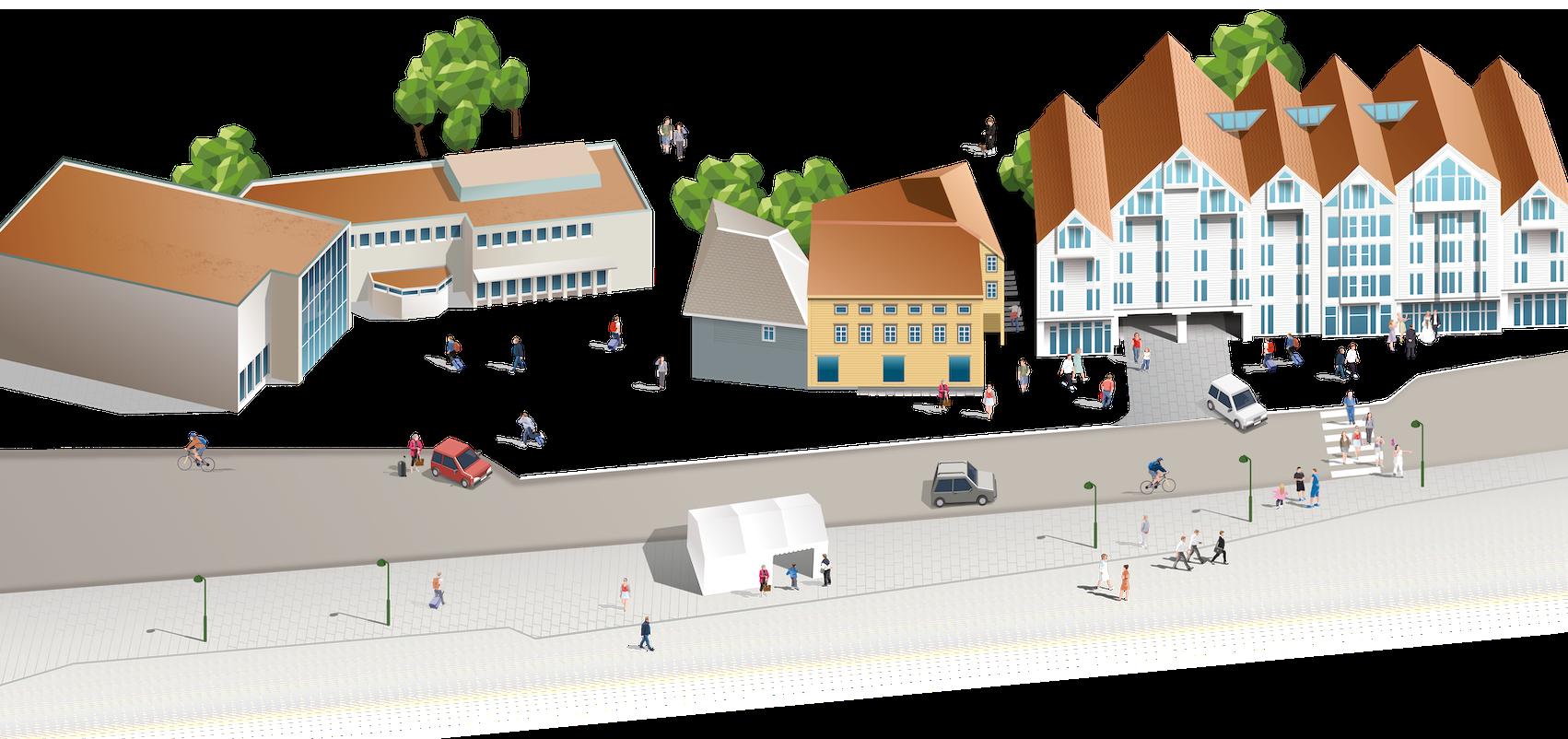 Stavanger-gate, illustrasjon